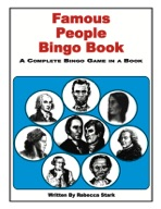 Famous People Bingo Book