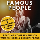 Famous People & Celebrities - ESL Readings, Discussions & Questions