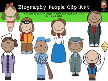 Famous People Clipart!