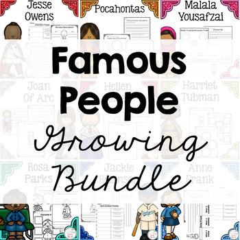 Famous People {Growing} Bundle
