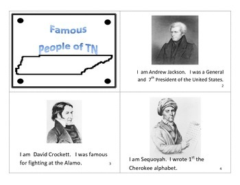 Famous People In TN book