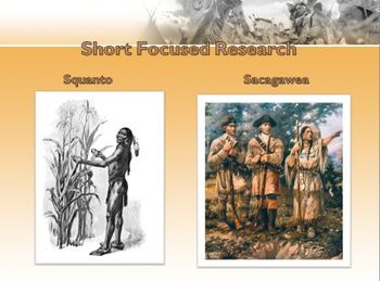 Famous People: Native Americans Short Focused Research Literacy Center