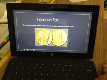 Famous People Projects - WWI and the 1920s