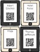 Famous People QR Code Read Aloud Listening Centers