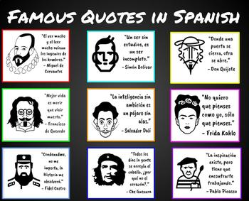 Famous People Quotes in Spanish