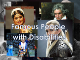 Famous People With Disablities