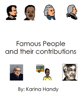 Famous People and Their Contributions