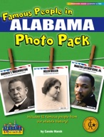 Famous People from Alabama Photo Pack