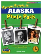 Famous People from Alaska Photo Pack