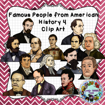 Famous People from American History Set 4