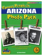 Famous People from Arizona Photo Pack