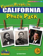 Famous People from California Photo Pack