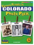 Famous People from Colorado Photo Pack