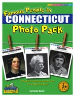 Famous People from Connecticut Photo Pack
