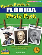Famous People from Florida Photo Pack