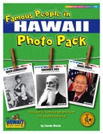 Famous People from Hawaii Photo Pack