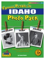 Famous People from Idaho Photo Pack