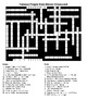 Famous People from Illinois Crossword & Word Search with KEYS