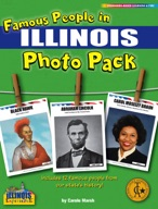 Famous People from Illinois Photo Pack