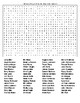 Famous People from Indiana Crossword & Word Search with KEYS