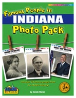 Famous People from Indiana Photo Pack