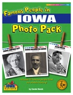 Famous People from Iowa Photo Pack