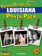 Famous People from Louisiana Photo Pack