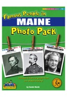 Famous People from Maine Photo Pack