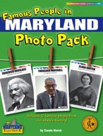 Famous People from Maryland Photo Pack