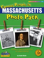 Famous People from Massachusetts Photo Pack