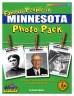 Famous People from Minnesota Photo Pack