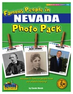 Famous People from Nevada Photo Pack