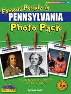 Famous People from Pennsylvania Photo Pack