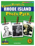 Famous People from Rhode Island Photo Pack