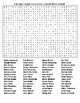 Famous People from South Dakota Crossword & Word Search wKEYs
