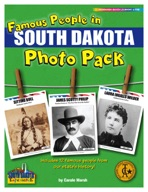 Famous People from South Dakota Photo Pack