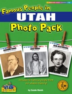 Famous People from Utah Photo Pack