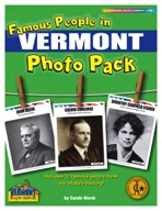 Famous People from Vermont Photo Pack
