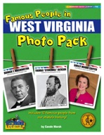 Famous People from West Virginia Photo Pack