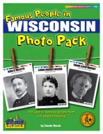 Famous People from Wisconsin Photo Pack