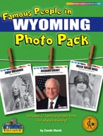 Famous People from Wyoming Photo Pack