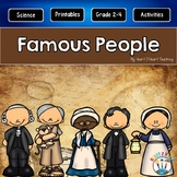Famous People in History | Famous Americans & More | A GROWING Biography Bundle