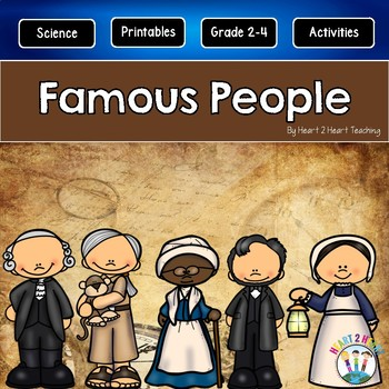 Famous People in History | Famous Americans | A GROWING Biography Bundle