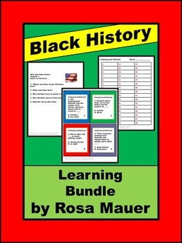 Famous People in History Bundle: Save Time and Money!