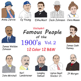 Famous People of the 1900s Vol 2.