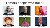 Famous People who Stutter