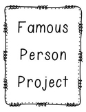 Famous Person Biography Project