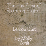 Famous Person Journal  (Research Project)