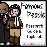 Famous Person Research Guide and Lapbook
