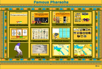Pharaohs of Ancient Egypt - Bill Burton
